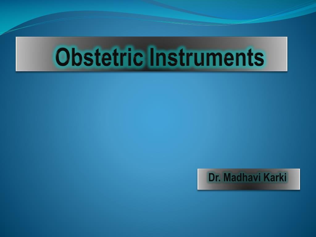 obstetric instruments l.