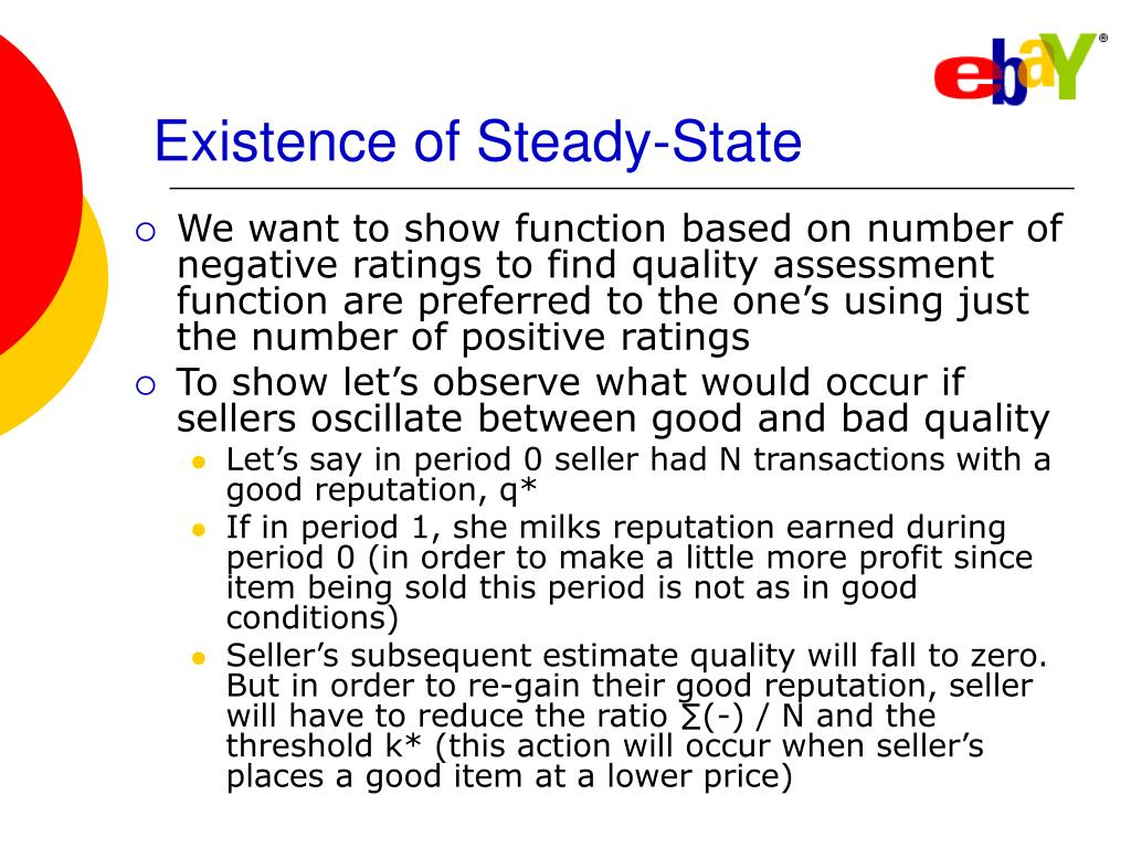Existence of Steady-State