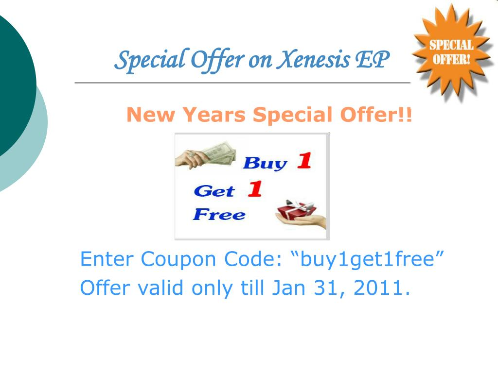 Special Offer on Xenesis EP