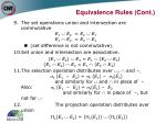 equivalence rules cont38