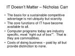 it doesn t matter nicholas carr