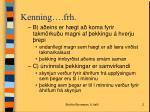 kenning frh