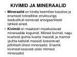 kivimid ja mineraalid