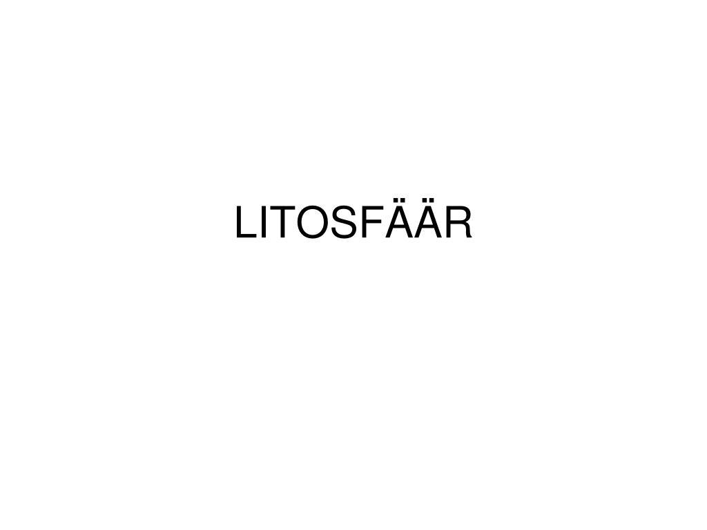 litosf r l.