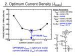 2 optimum current density j bias