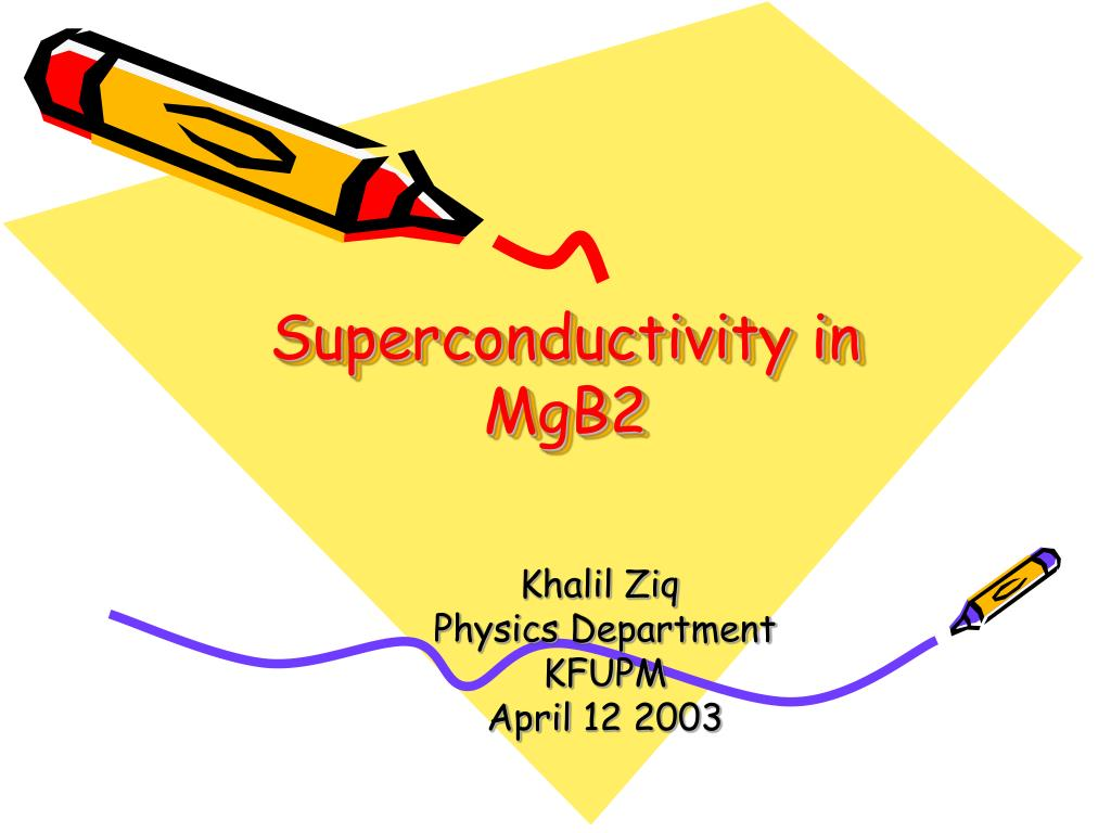 superconductivity in mgb2 l.