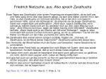 friedrich nietzsche aus also sprach zarathustra