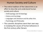 human society and culture57