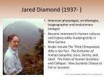 jared diamond 1937