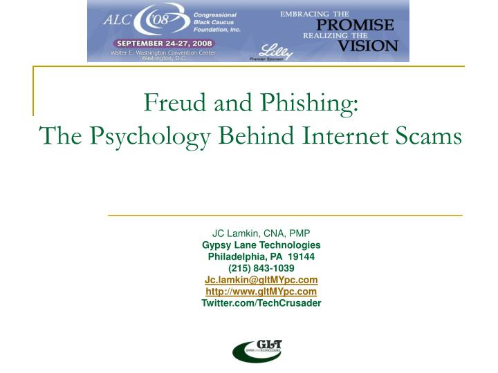 Freud and phishing the psychology behind internet scams