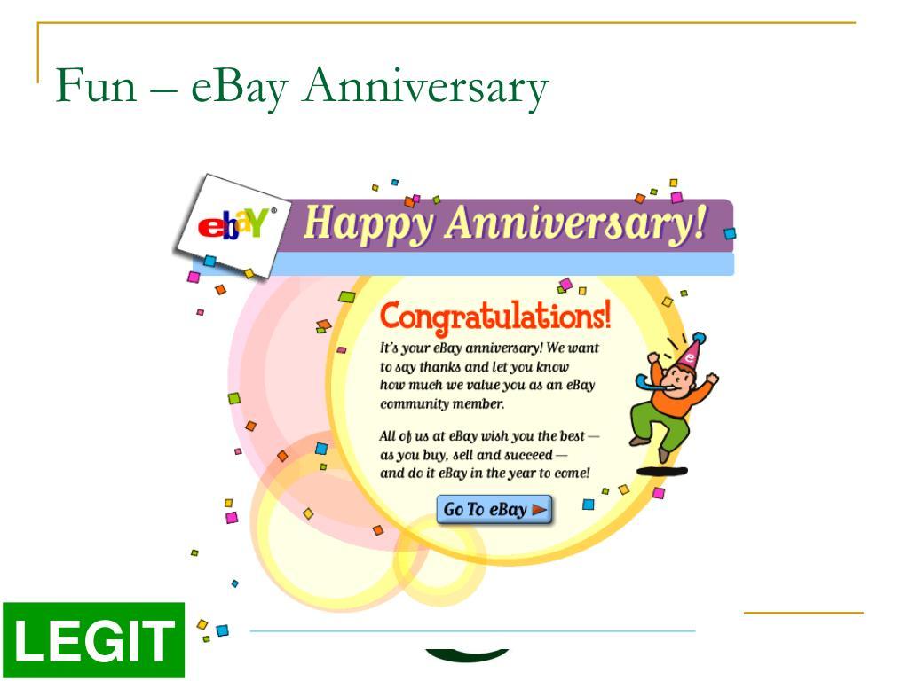 Fun – eBay Anniversary