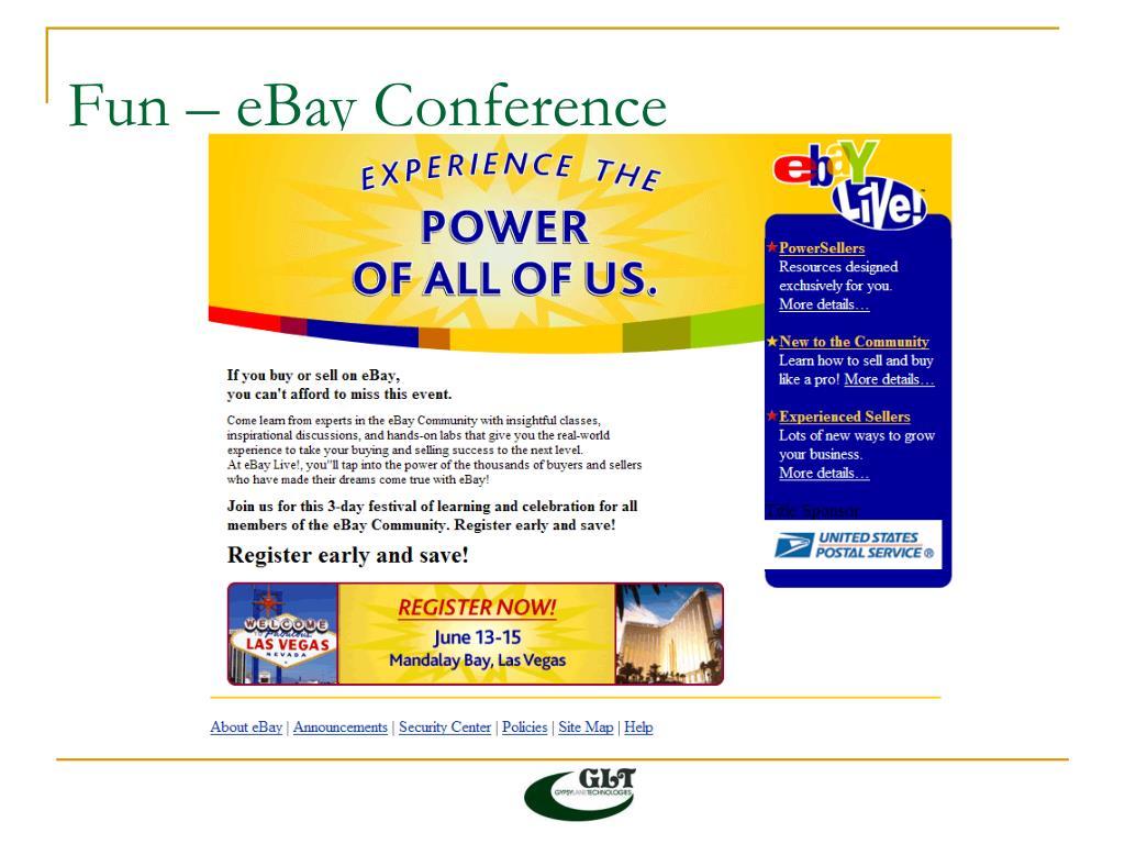 Fun – eBay Conference