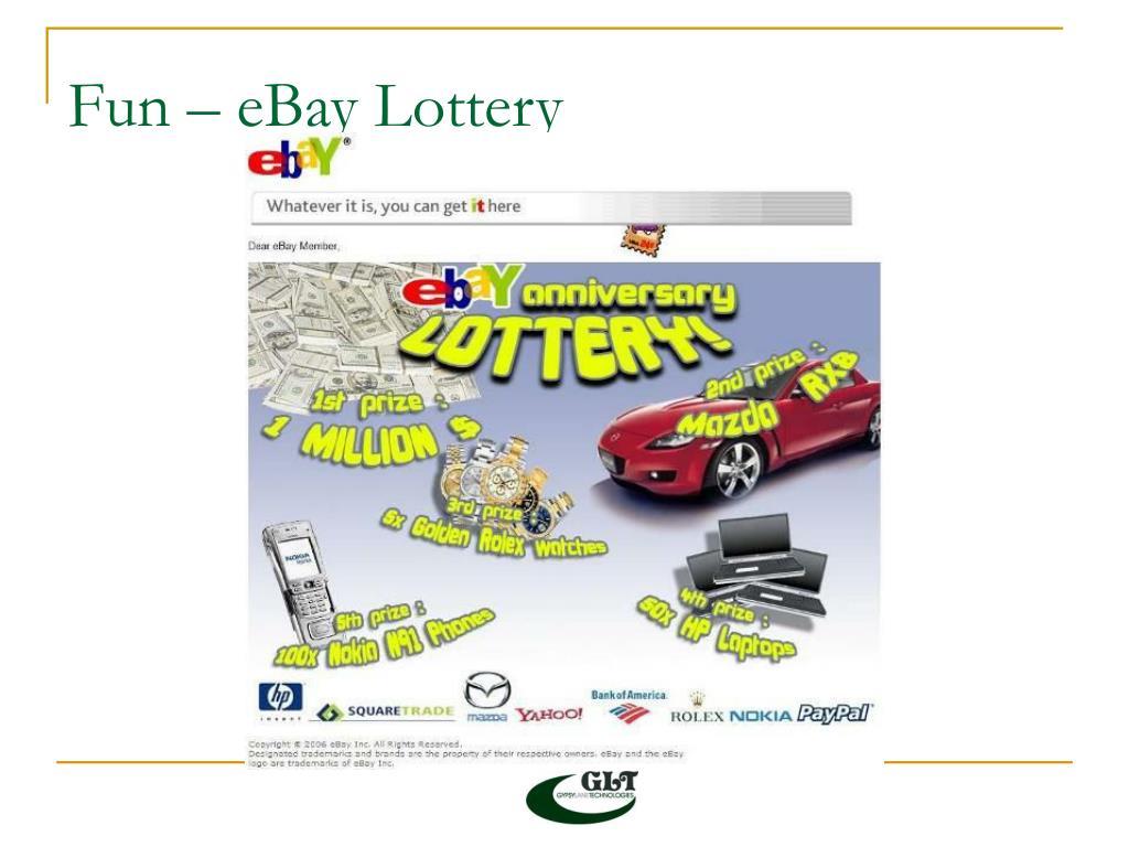 Fun – eBay Lottery