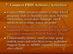7 connect pbis actions activities