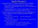 spell checker i