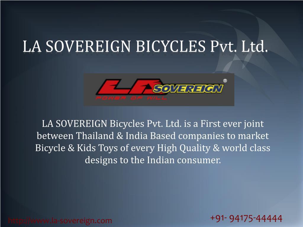 la sovereign bicycles pvt ltd l.