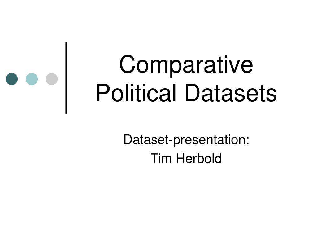 comparative political datasets l.