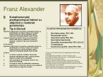 franz alexander