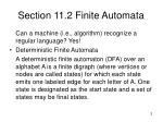 section 11 2 finite automata