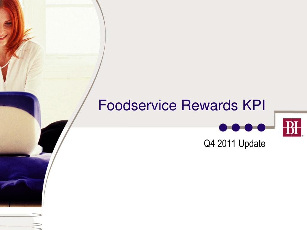 foodservice rewards kpi l.
