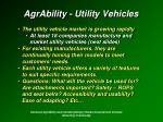 agrability utility vehicles9