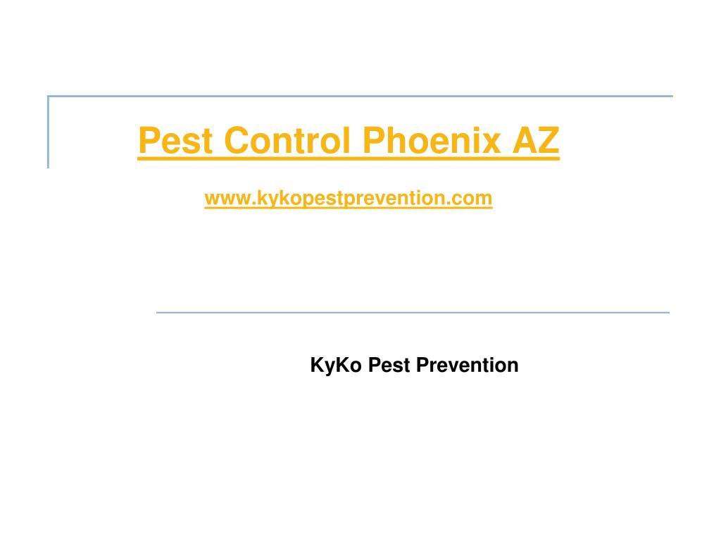 pest control phoenix az www kykopestprevention com l.