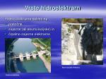 vrste hidroelektrarn