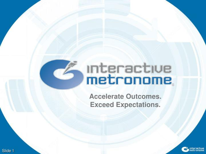 accelerate outcomes exceed expectations n.