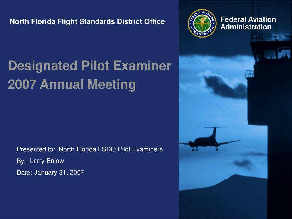 north florida flight standards district office l.