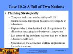 case 10 2 a tail of two nations