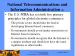 national telecommunications and information administration 1