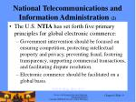 national telecommunications and information administration 2
