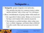 netiquette 1