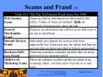 scams and fraud 1