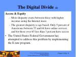 the digital divide 2
