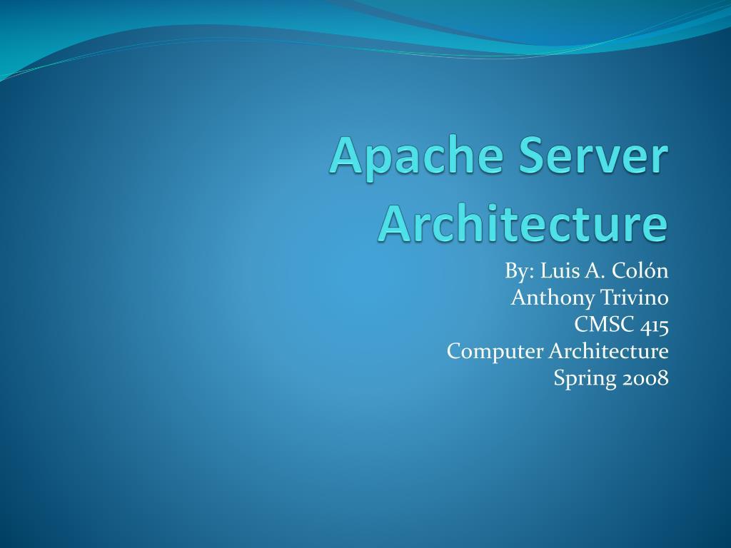 apache server architecture l.