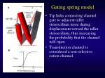 gating spring model