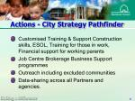 actions city strategy pathfinder8