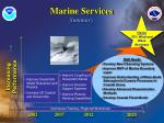 marine services summary