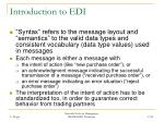 introduction to edi37