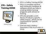 stk safety training kiosk