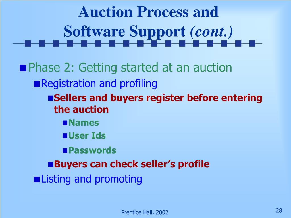 Auction Process and