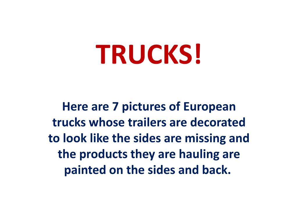 trucks l.