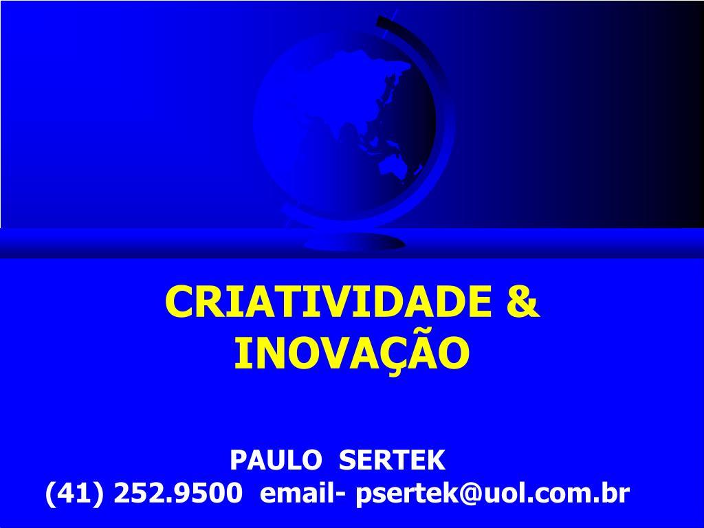 criatividade inova o l.