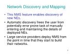 network discovery and mapping