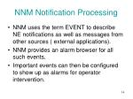 nnm notification processing