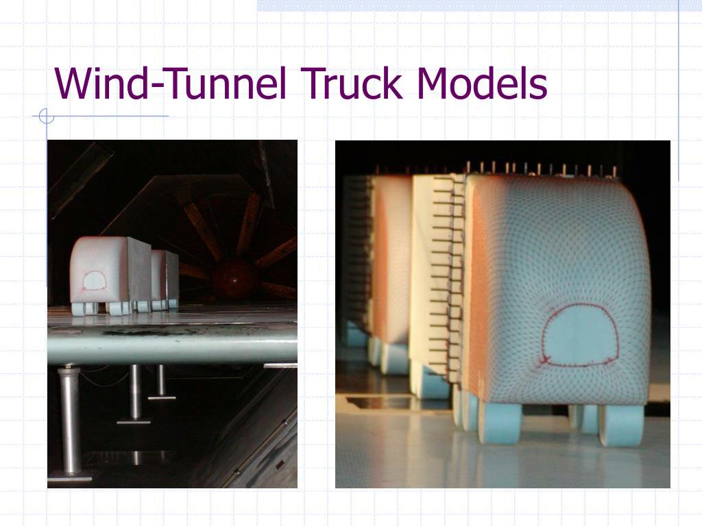Wind-Tunnel Truck Models
