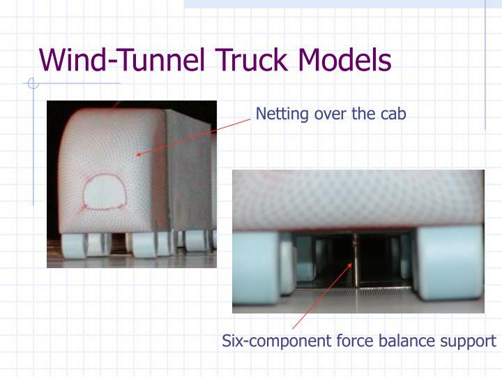 Wind tunnel truck models3