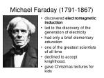 michael faraday 1791 1867