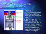 how it works lng in a high compression diesel engine55